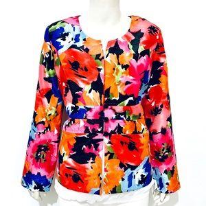 DANNY & NICOLE | Women's Button Up Blazer Size 14P